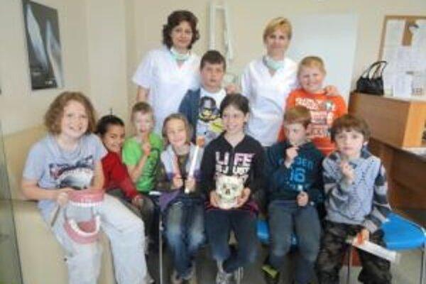 Projekt v ambulancii zubárky.
