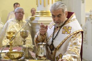 Košický gréckokatolícky biskup Milan Chautur.