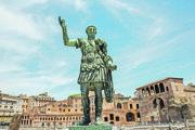 Socha autokrata Cézara v Ríme.