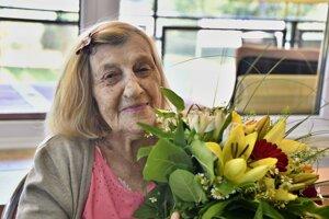 Pani Oľga oslávila už 103. narodeniny.