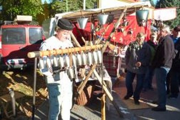 Umelec zvony v Mošovciach nielen predával, ale ich vedel aj pekne rozozvučať.