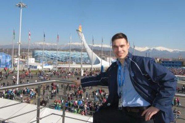 Miroslav Valach si atmosféru olympiády užíval plnými dúškami.