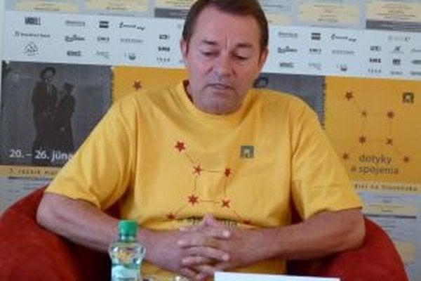 František Výrostvko, riaditeľ Slovenského komorného divadla.