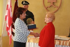 Ocenená H. Bohmerová