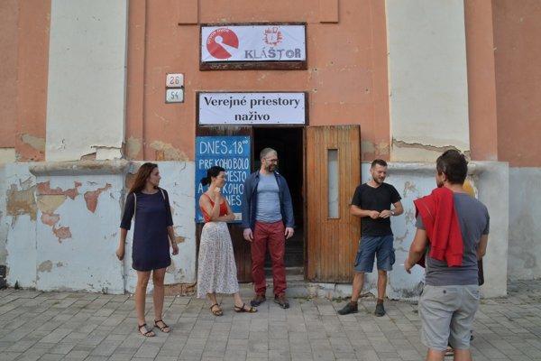 Kultúrno-kreatívne centrum Kláštor. FOTO: PP