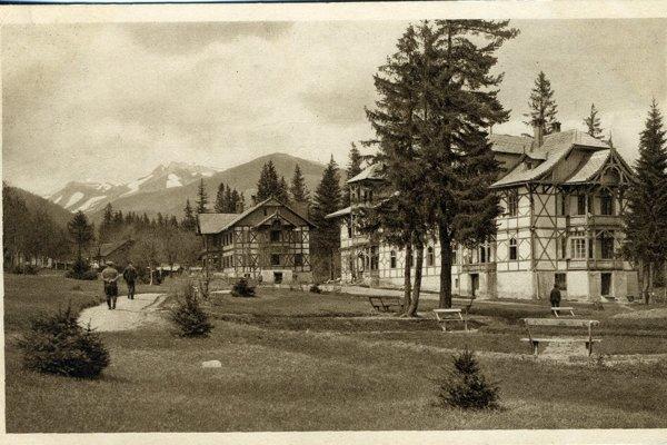 Tatranské Matliare v čase pobytu Franza Kafku.