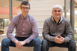 Peter Kilian (vľavo) a Pavol Čekan