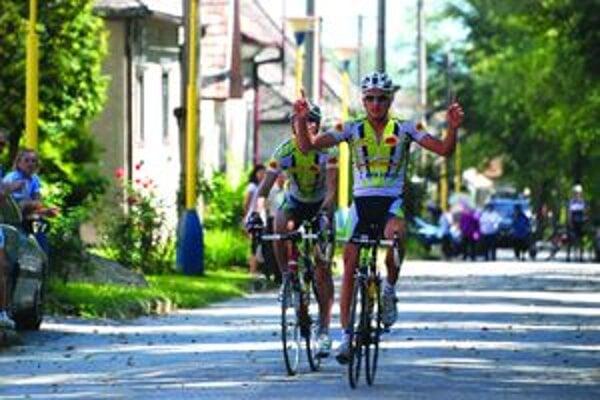 Vlaňajší víťaz. Maroš Kováč vyhral Slovenské Pyreneje dvakrát.