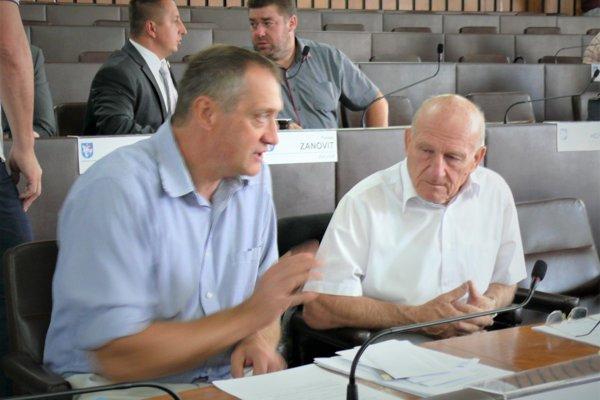 Bohdan Hroboň aAlexander Lilge vkomunálnej politike končia.