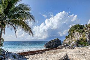 Najkrajšie pláže v Mexiku.