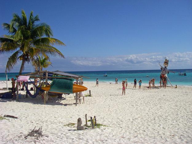 Pláž Xpu Ha.
