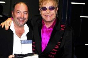 Michal David a Elton John.
