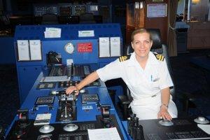 Júlia Lorencovič pracovala v kokpitoch najväčších zaoceánskych lodí.