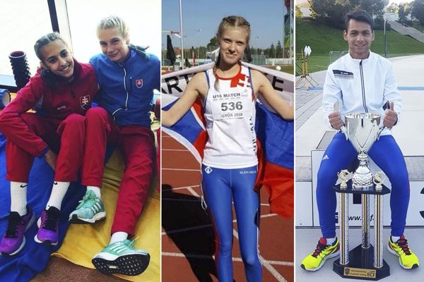 Zľava Renáta Vodnyanzská, Andrea Švecová, Paulína Avenová a Daniel Kováč.