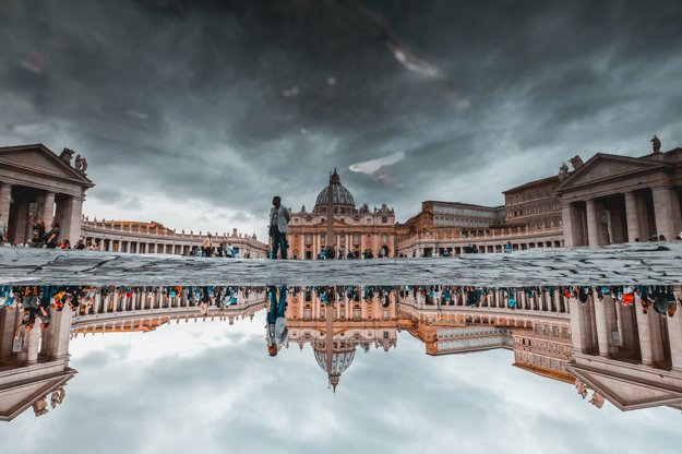 Pohľad na Chrám Sv. Petra