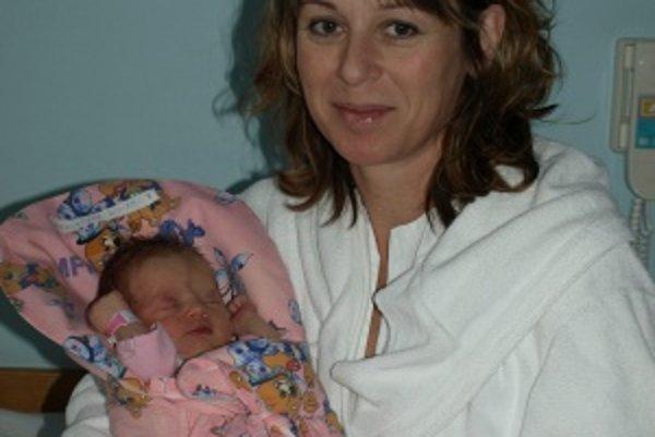 Malá Miriam bola pre mamičku Jaroslavu Fekiačovú do poslednej chvíle prekvapením.