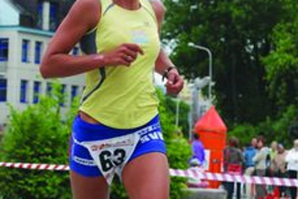 Kristína Lapinová z TAT Martin nenašla v uliciach Martina premožiteľku a s prehľadom získala titul majsterky Slovenska.