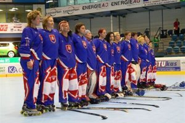 Slovenský tím štartoval na MS v in-line hokeji žien po prvýkrát.