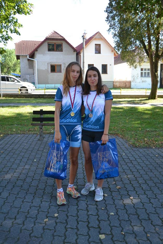 Aneta Kaušbová a Alexandra Mináriková.