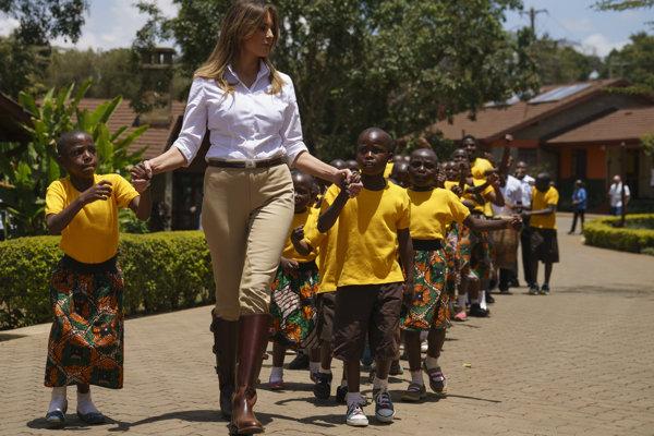 S deťmi v Keni si zatancovala na typické africké rytmy.