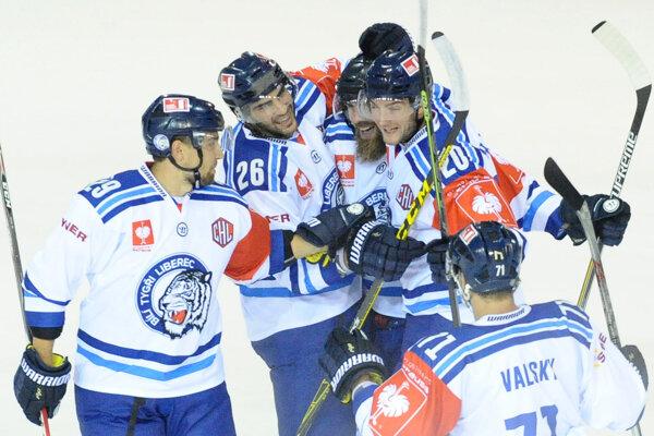 Hokejisti Liberca sa tiež predstavia v novej sezóne LM. (Ilustračná fotografia)