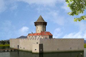 Takto vyzeral Budatínsky hrad v 16. storočí na základe archeologického výskumu.