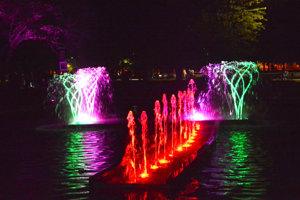 Jedna z atrakcií bola aj v Mestskom parku.