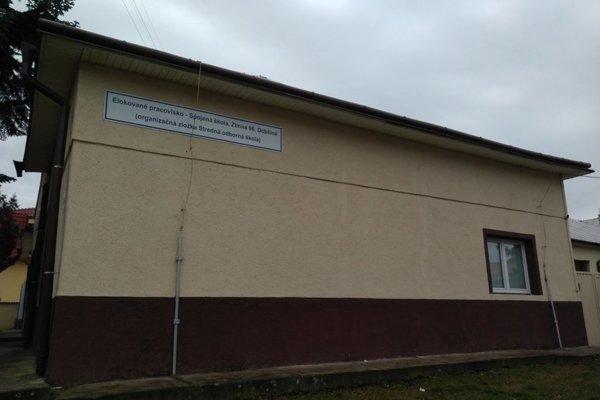 Alokované pracovisko Spojenej strednej školy Dobšiná v Sečovciach.