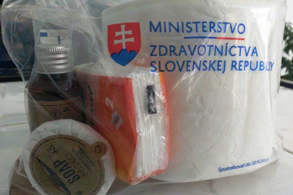 Hygienický balíček.