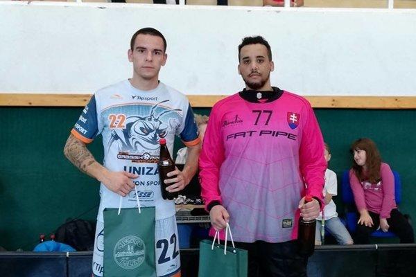 Najlepšími hráčmi zápasu sa stali Richard Francl (Grasshoppers) a Dávid Vagaský (Snipers).