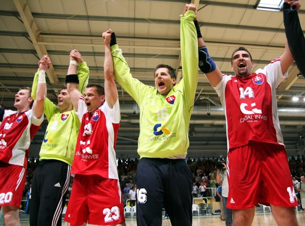 Andrej Petro (vpravo) zažil so slovenskou reprezentáciou veľa pekných chvíľ.