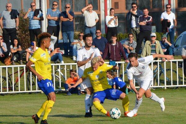 Šimonovany v pohári končia, Michalovc ich zdolali 4:0.