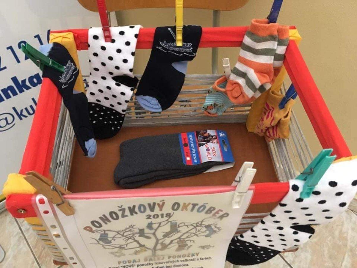 Ako pomôcť druhým  Aj darovaním ponožiek - mysaris.sme.sk 959c228f1ef