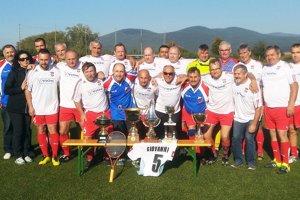 V Čiernych Kľačanoch sa hral spomienkový futbalový zápas.