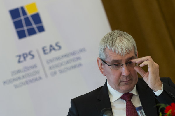 Prezident Združenia podnikateľov Slovenska Ján Oravec.