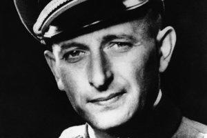Zločinec Adolf Eichmann.