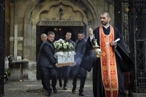 Viktoriu Marinovú pochovali.