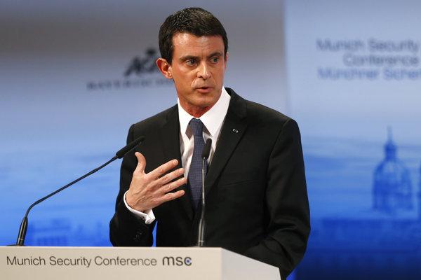 Francúzsky premiér Manuel Valls.