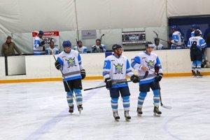 Hokejisti Sabinova.