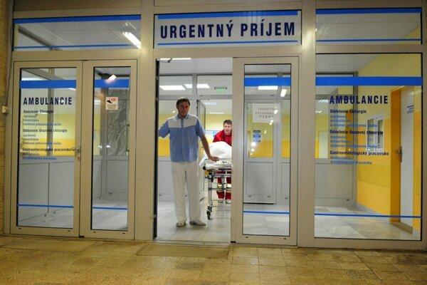Na urgentnom príjme v prešovskej nemocnici ošetrili od zavedenia nových pohotovostí ešte viac pacientov.