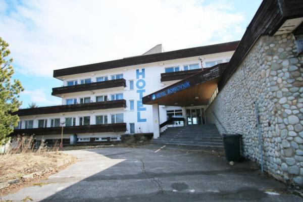 Hotel Bobrovník je už štyri roky zatvorený.