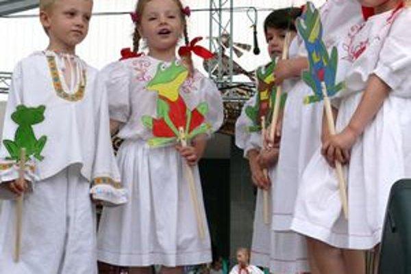 Javisko zaplnili deti z materských a základných škôl už v piatok.