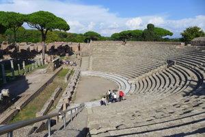 V divadle postavenom za vlády cisára Augusta stále organizujú kultúrne podujatia.