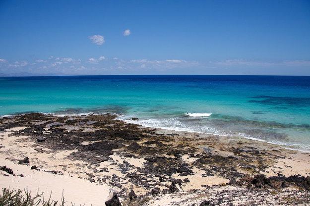Pláže na Fuerteventure