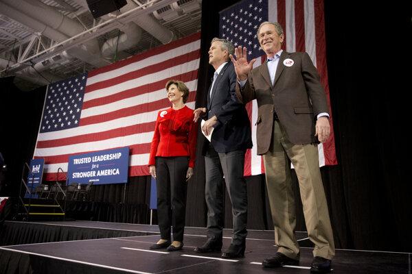 Exprezident sa zúčastnil na mítingu v Južnej Karolíne.