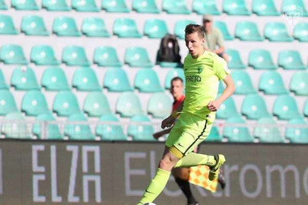 Víťazný gól vsietil Filip Balaj. Ilustračné foto.