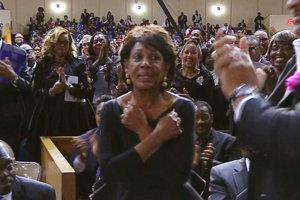 Kongresmanka Maxine Watersová.