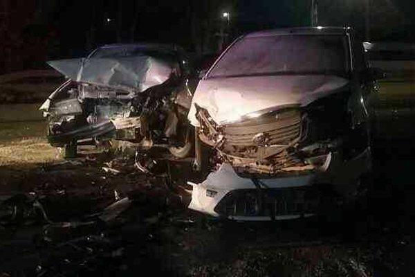 Pri nehode neďaleko Šace sa zranili traja ľudia.