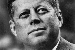 35. prezident USA John Fitzgerald Kennedy.
