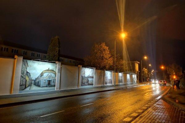 Historické klenoty Prešova už rozžiarili Okružnú ulicu.